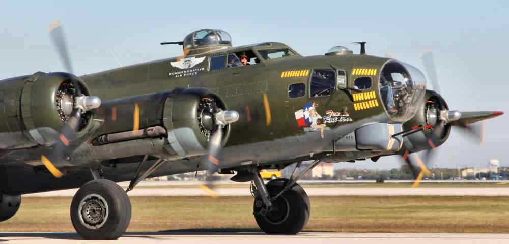 Tour B-17 Texas Raiders at an event in your area !